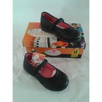 Zapatos Colegiales Negros Para Niñas Marca Bloom
