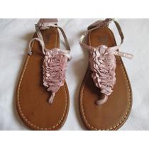 Sandalias Para Jovencitas Total Girl Color Rosada Talla 34