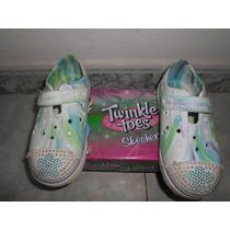 Bonitos Zapatos Playeros De Niñas Talla 27
