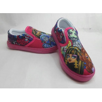 Zapato Infantiles De Niña Muñecas Monster High