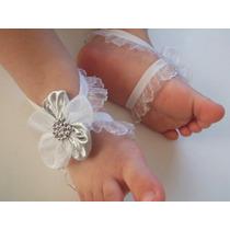Barefoot Sandalias Para Bautizo Niñas