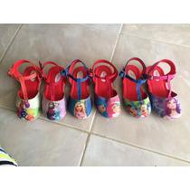 Zapatillas De Niñas Frozzen Sofia Peppa Y Otros