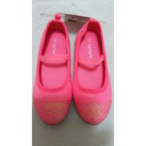 Zapatillas Carters Para Niñas Color Coral
