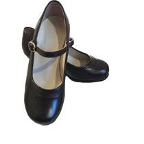 Zapatos De Flamenco Y Danza Nacionalista 100% Cuero