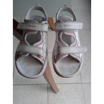 Sandalias Para Niñas Clarks Nro 12