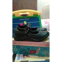 Zapatos Para Niña Colegiales Marca Sifrinas Talla 32 Nuevos