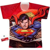 Franela De Niño De Superman Varios Modelos
