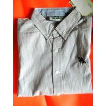 Camisas De Niño Tallas 8-10-12-14-16 100% Algodon