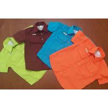 Camisas Tipo Safari Para Niño