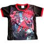 Franela Ropa Niños Vengadores Iron Man Spiderman Talla 2
