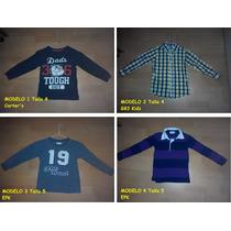 Camisas Para Niño Epk, Carter´s, Otros