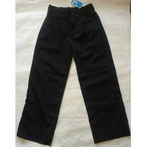 Pantalon Escolar Niña Ovejita Talla 6 Gabardina Original