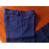 Pantalones Escolares Mayor Y Detal Talla 4 A 16 Gabardina