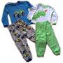 Pijamas Importadas Para Niños Talla 6 Y Talla 8 100% Algodón
