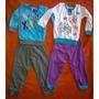 Pijamas 100% Algodón Para Niño 12 Meses Y Niña 18 Meses