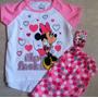 Minnie Mouse Pijama Importada Niño Original