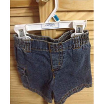 Bellos Shores De Jeans Unisex Talla: 2 Y 18 Meses
