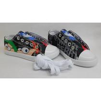 Zapatos Infantiles De Niño Phineas Y Ferb.