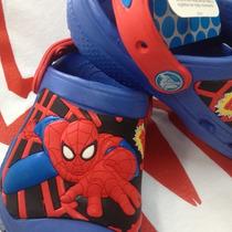 Crocs Spiderman Niños Originales