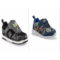 Zapatos Cars Star Wars Avengers Big Hero6 Dinosaurio Luces