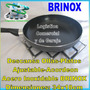 Reposa - Descansa Ollas Acordeon Acero Inox Brinox 34x18cm