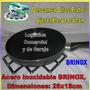 Reposa / Descansa Ollas Acordeon Acero Inox Brinox 26x18cm
