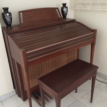 Organo Yamaha Electone Con 3 Teclados