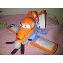 Peluche Aviones Planes Dusty Chupacabra Risplinger 16x23cm