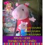 Peluche De Peppa Pig Y George.varios Tamaños. Mayor Y Detal