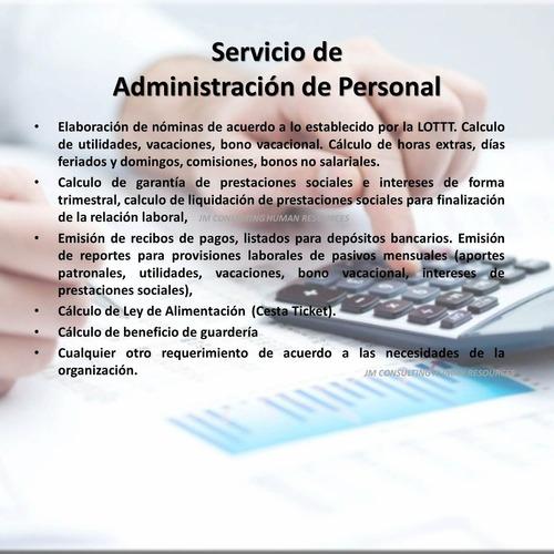 Outsorcing De Nomina Y Asesorías Laborales