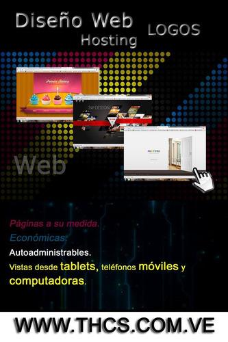 Páginas Web + Tiendas Virtuales + Hosting + Panel Admin