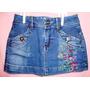 Vendo Bellas Falda De Jeans Marca Lodamy Sports Para Niña