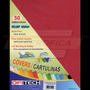 Cartulina Textura De Cuero Tamaño Carta 150gr 50 Und Vino