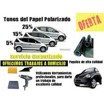 Papel Ahumado Carros Fotocromatico Proto. Instalacion Gratis