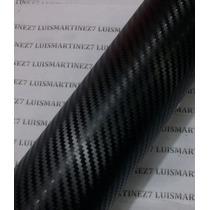 Vinyl Fibra Carbono Negro Efecto 3d 1.27 Ancho Marca Tr1