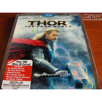 Thor The Dark World (3d Bluray + Bluray + Digital Hd) Nuevo