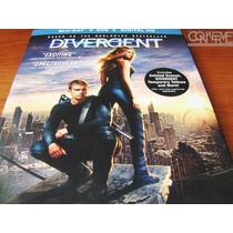 Divergent ( Blu-ray + Dvd + Digital Hd ) Original Nuevo