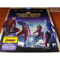 Guardianes De La Galaxia 3d Bluray + Bluray + Dc, Original