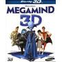 Pelicula Blu Ray Megamente 3d Español Original