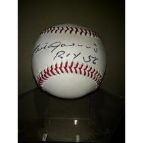 Plota Beisbol Autografiada Por Luis Aparicio