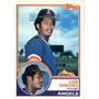 Bv Luis Sanchez Angels Topps 1983 #623