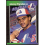 ( Geraval ) Barajita Johnny Paredes Donruss 1989