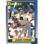 Bv Alvaro Espinoza New York Yankees Topps 1990 #791