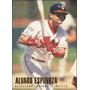 Bv Alvaro Espinoza Cleveland Indians Fleer 1996 #86