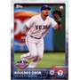 Bv Rougned Odor Texas Rangers Topps Opening Day 2015 #50