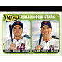 Cl27 2014 Topps Heritage #308 Wilmer Flores Rc 5-174