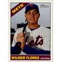 Cl27 Wilmer Flores 2015 Topps Heritage #41 Mets