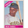 Barajita Willie Stargell Piratas Pittsburgh Topps 1966 #255