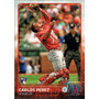 Bv Carlos Perez Rc Anaheim Angels Topps Update 2015 #us48
