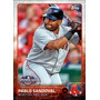 Bv Pablo Sandoval Boston Red Sox Topps Opening Day 2015 #18